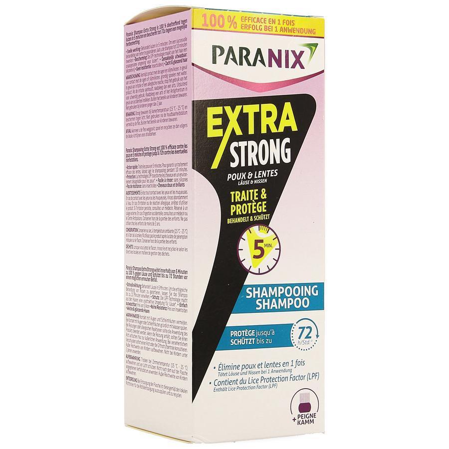 Image of Paranix Extra Strong + peigne à poux