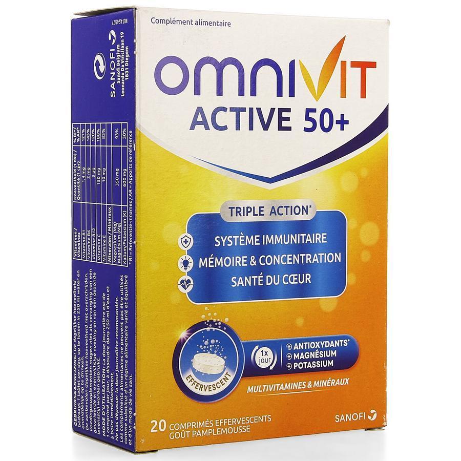 Image of Omnivit Active 50+ Fizz