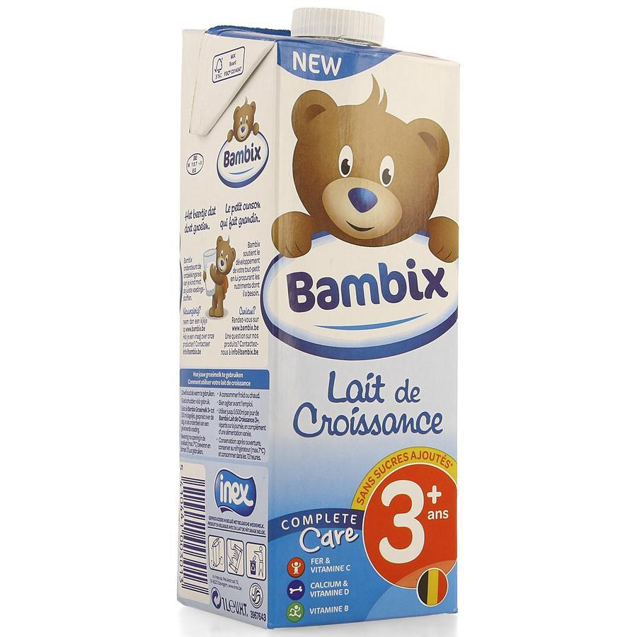 Image of Bambix Lait de croissance 3+ nature