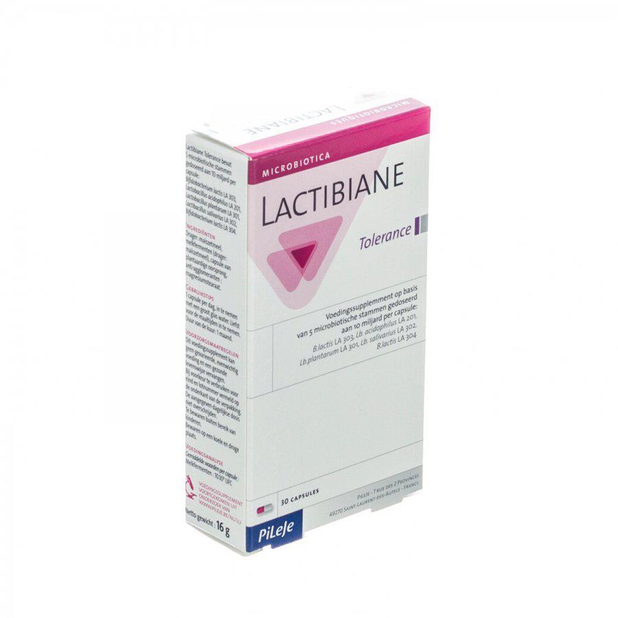 Pileje Lactibiane tolerance 30caps
