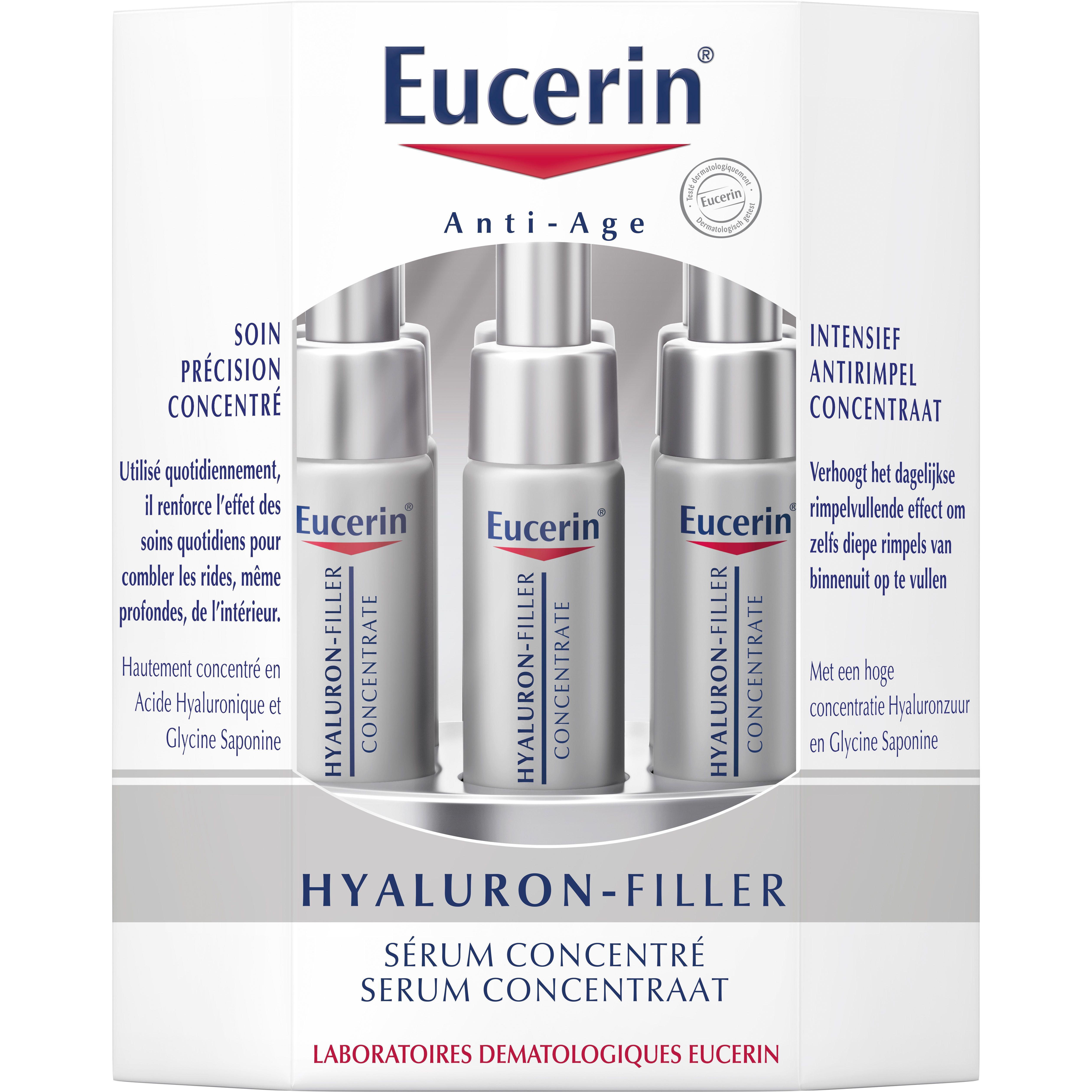 Eucerin Hyaluron Filler Concentraat Anti Rimpel 6x5ml