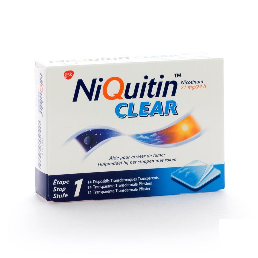 Niquitin Clear 21mg