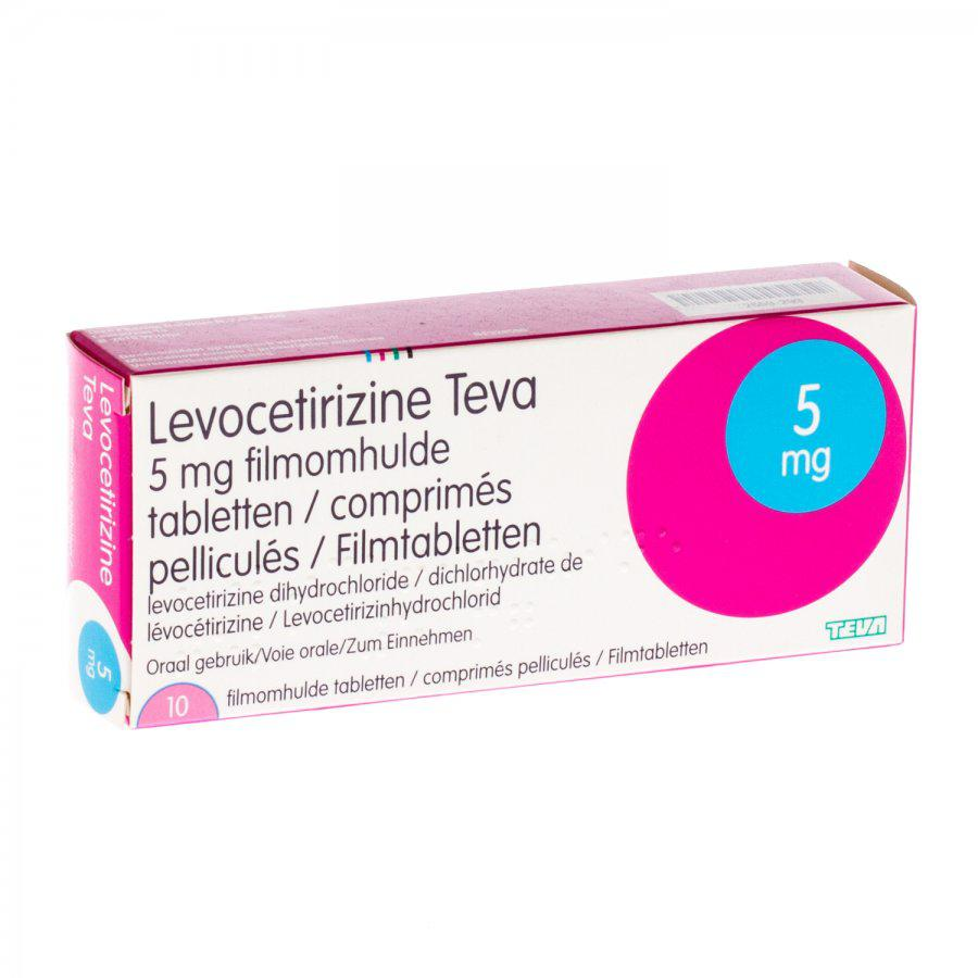 Levocetirizine Teva 5mg
