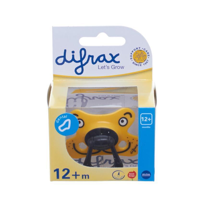 Difrax Fopspeen Semi-filled vanaf12mnd Dental Assorti Stuk