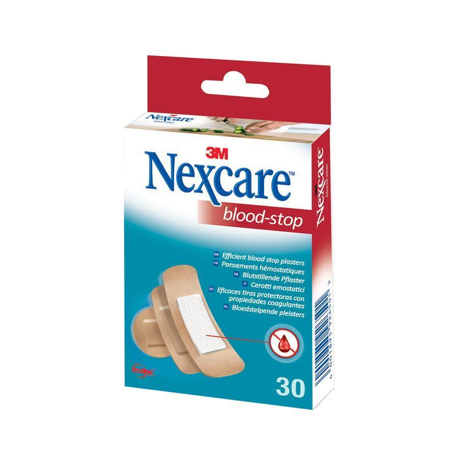 3m Nexcare Bloed Stop Assortiment Pleisters 30Stuks