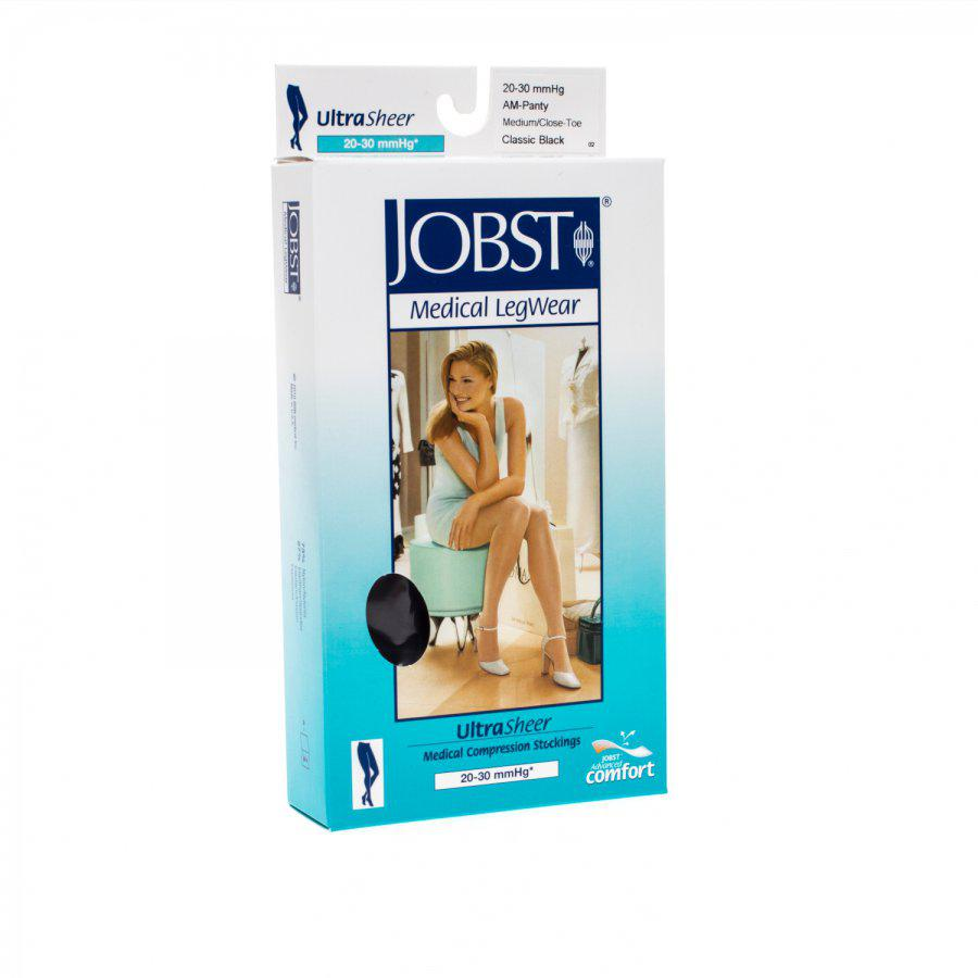 Jobst ultrasheer AM panty zwart medium