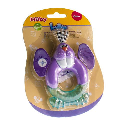 Image of Nûby anneau de dentition coolbite polar pal 3 mois+