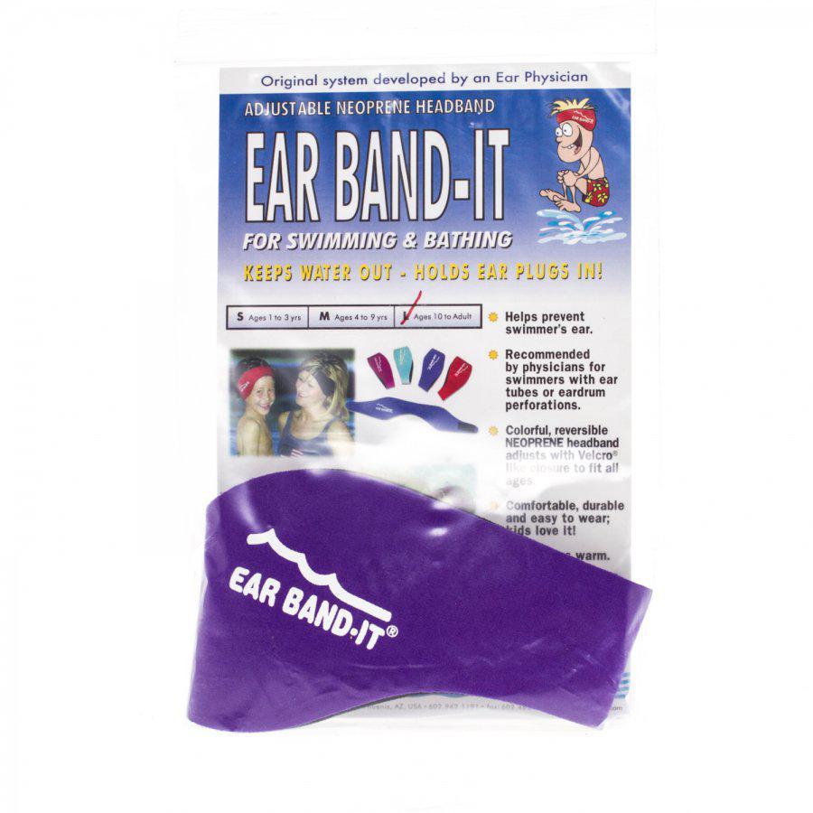 Ear band-it hoofdband zwemmen large +10j