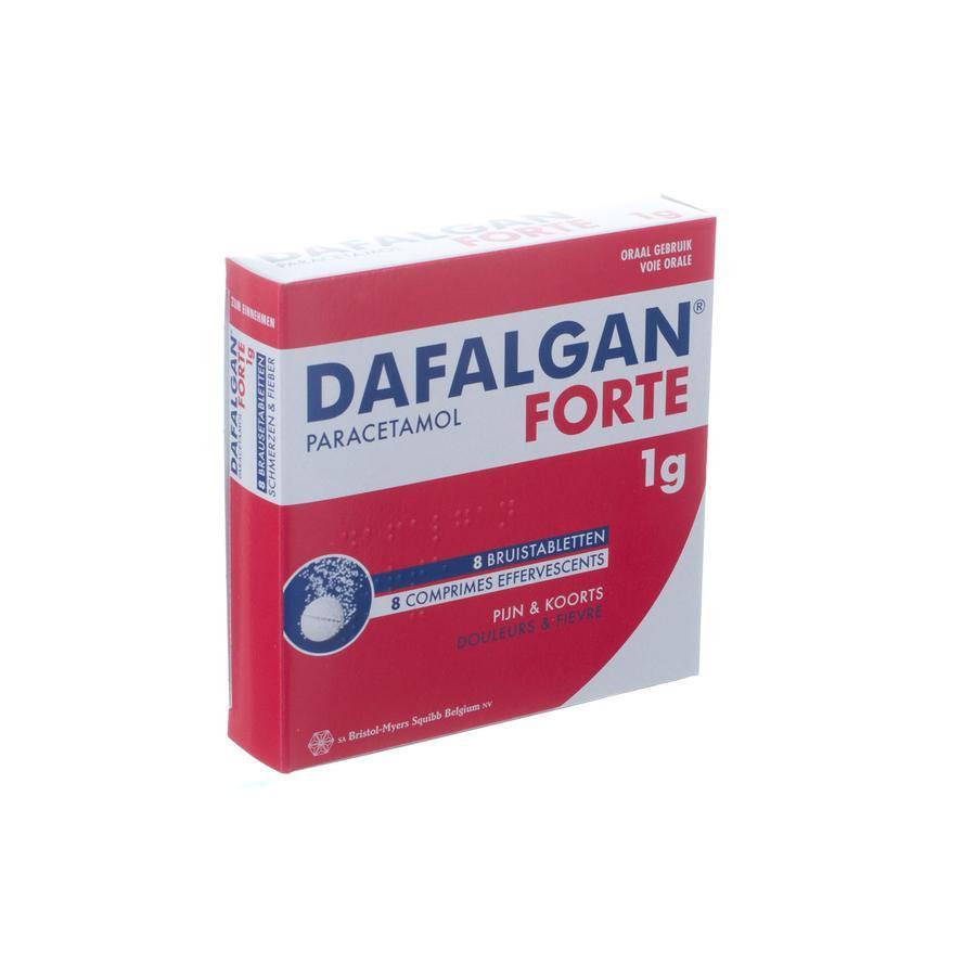 Image of Dafalgan Forte 1g bruistabletten