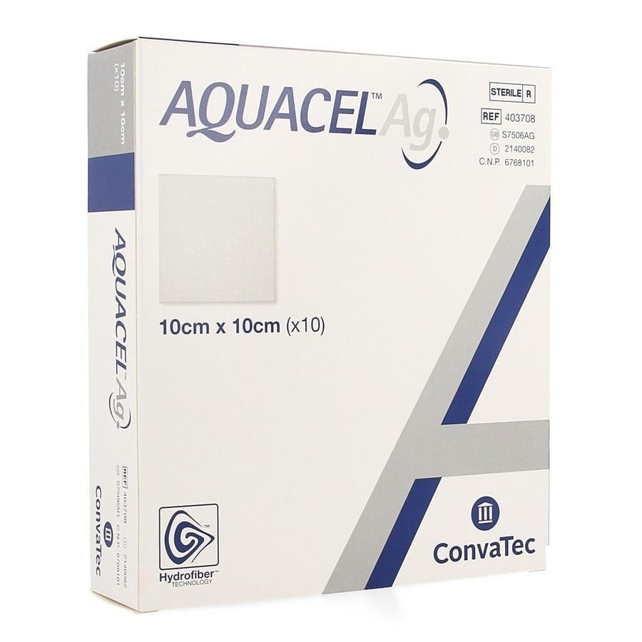 Image of Aquacel Ag 10cmx10cm
