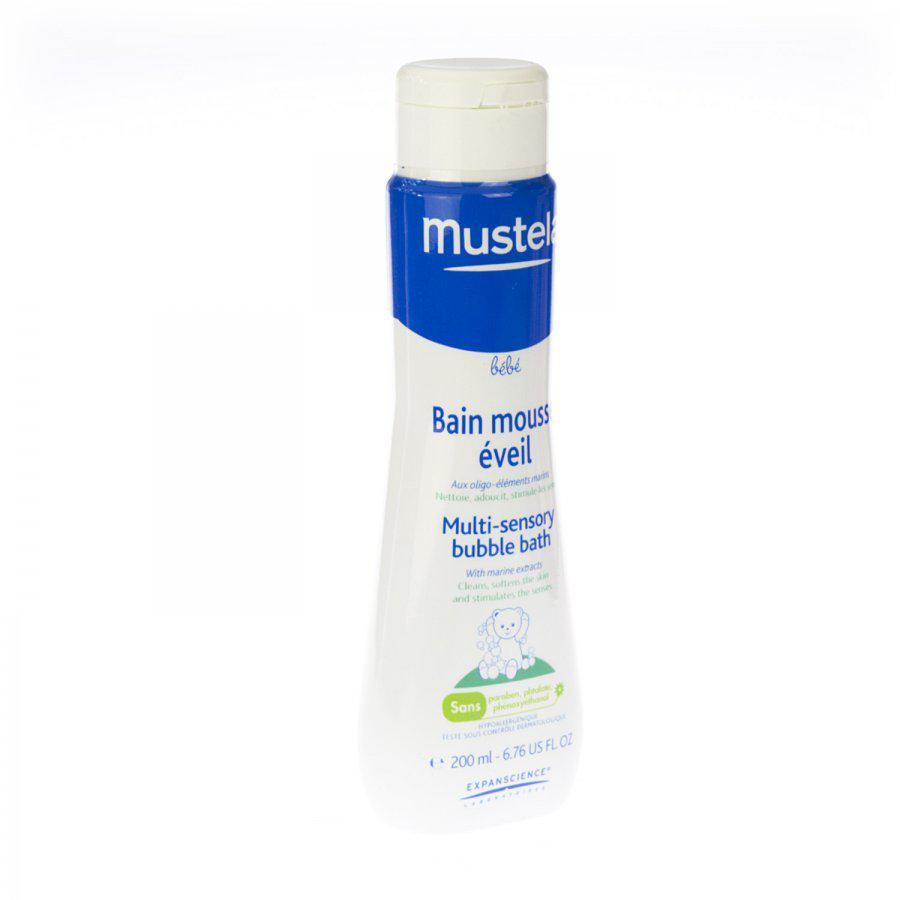Image of Mustela Bébé bain mousse eveil