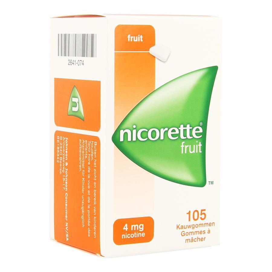 Nicorette Freshfruit 4mg