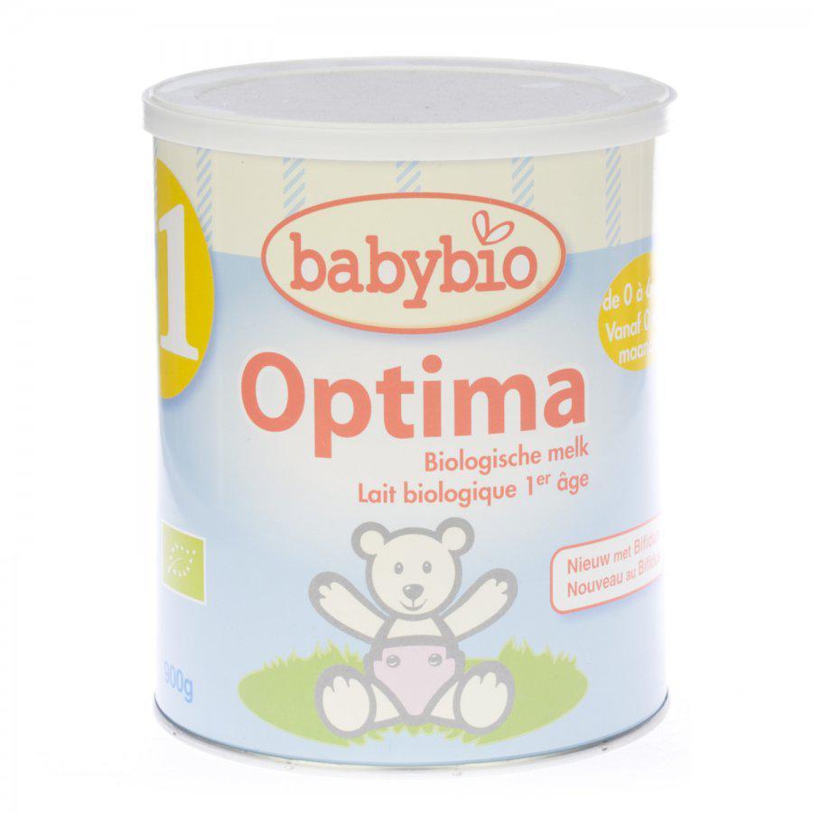 Babybio 1 Zuigeling optima 0-6 maanden 900g