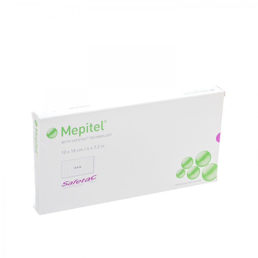 Image of Mepitel compresse silicone transparente 10cmx18cm