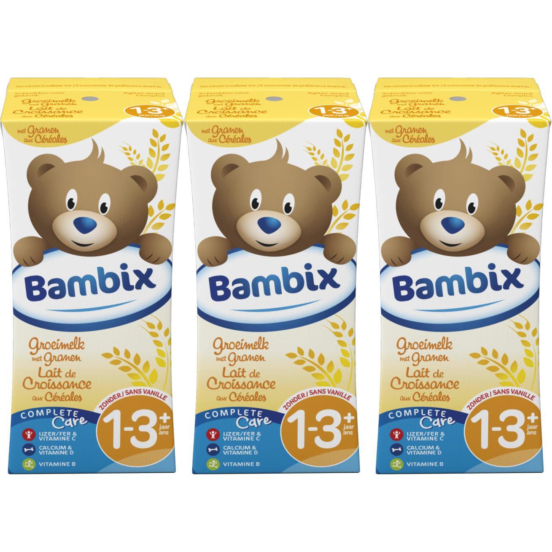 Image of Bambix Lait de croissance aux céréales biscuitées 1 an+