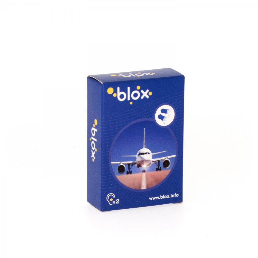 Image of Blox oordoppen vliegtuig