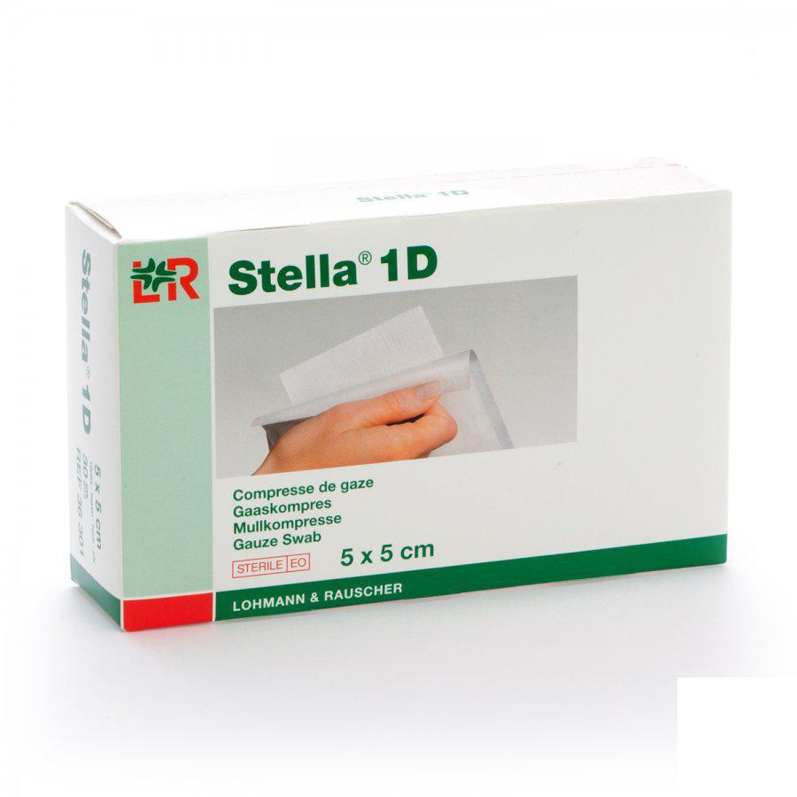 Image of Stella 1D kompressen 5x5cm