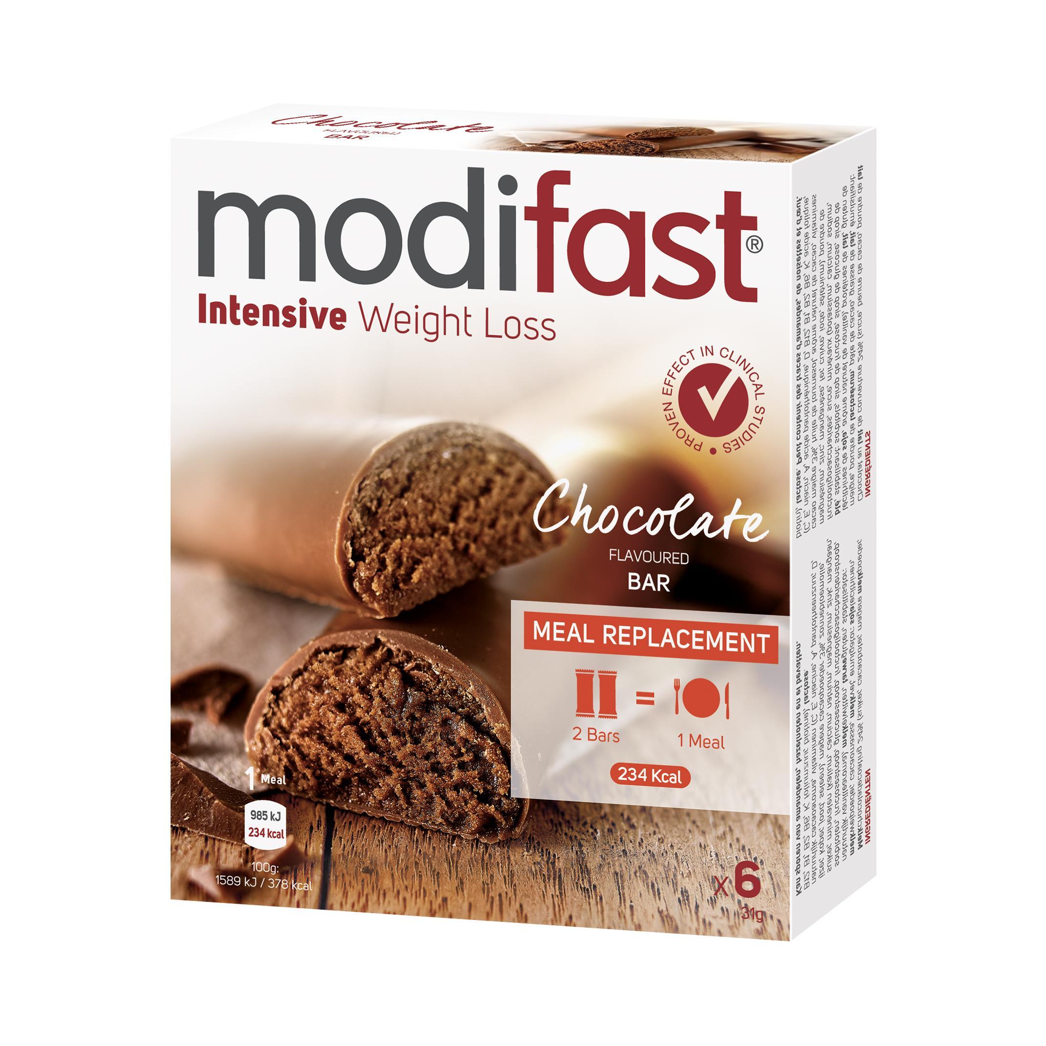 Image of Modifast control lunch barres chocolat au lait