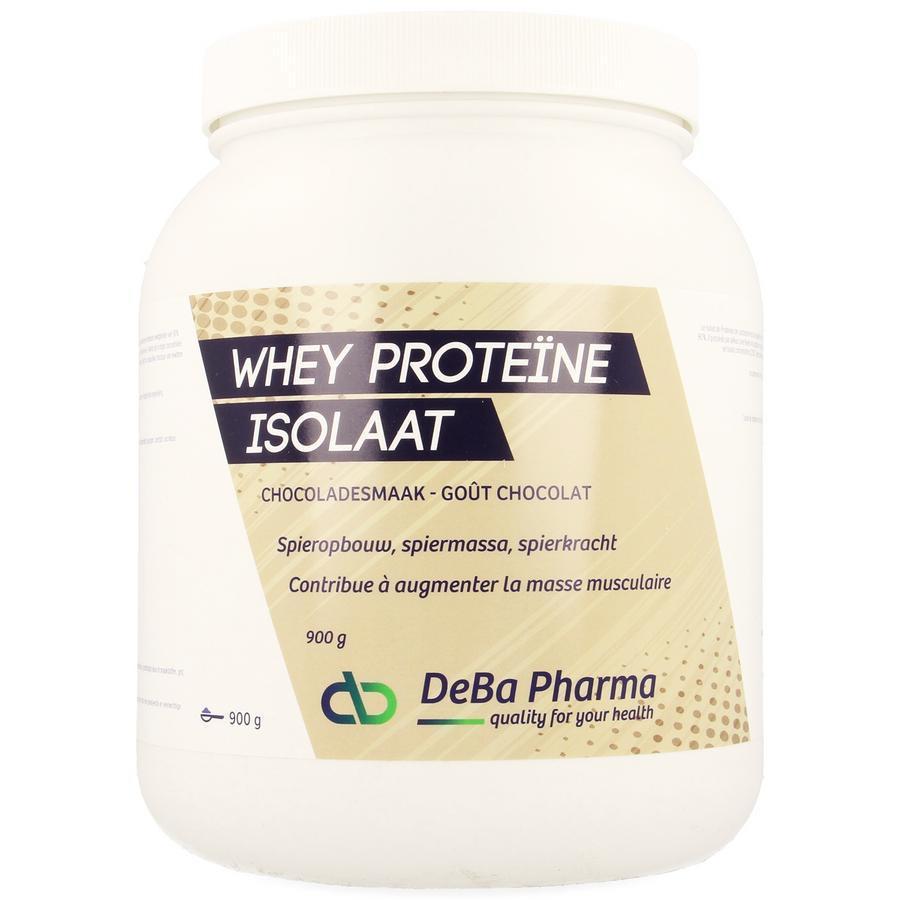 Deba Whey Proteine Isolaat Chocolade