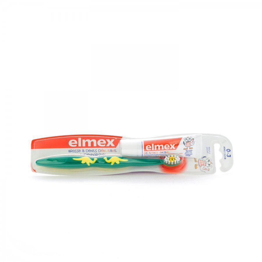 Image of Elmex brosse à dents débutant