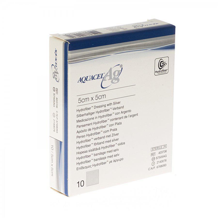 Image of Aquacel Ag 5cmx5cm