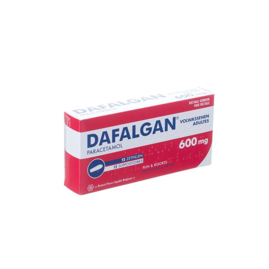 Image of Dafalgan 600mg volwassenen