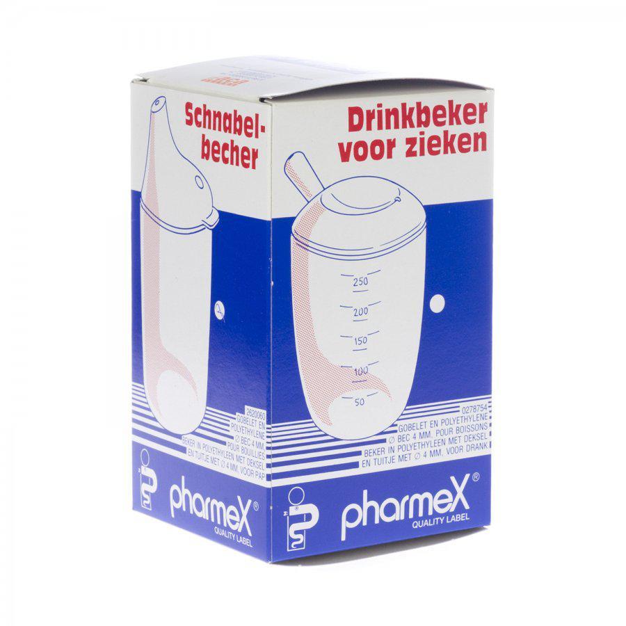 Image of Pharmex drinkbeker plastiek smalle opening