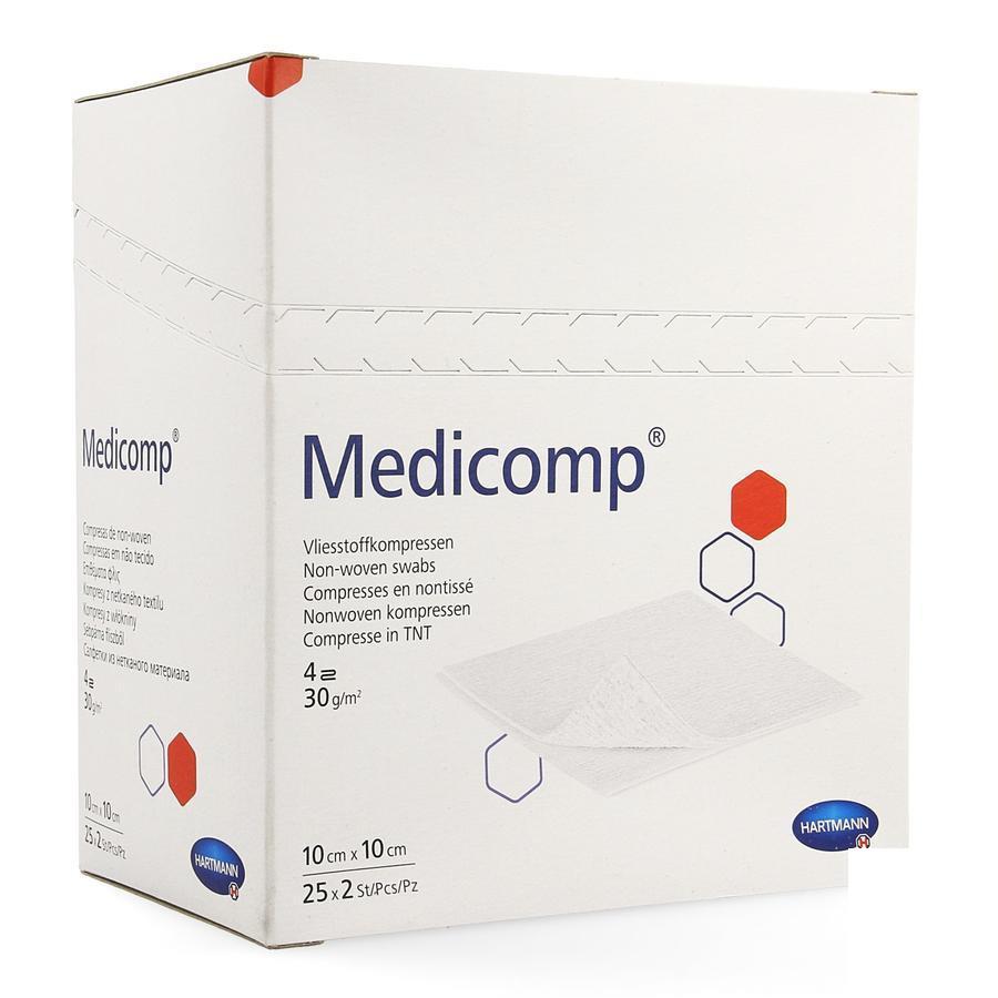 Image of Medicomp kompressen 10x10cm