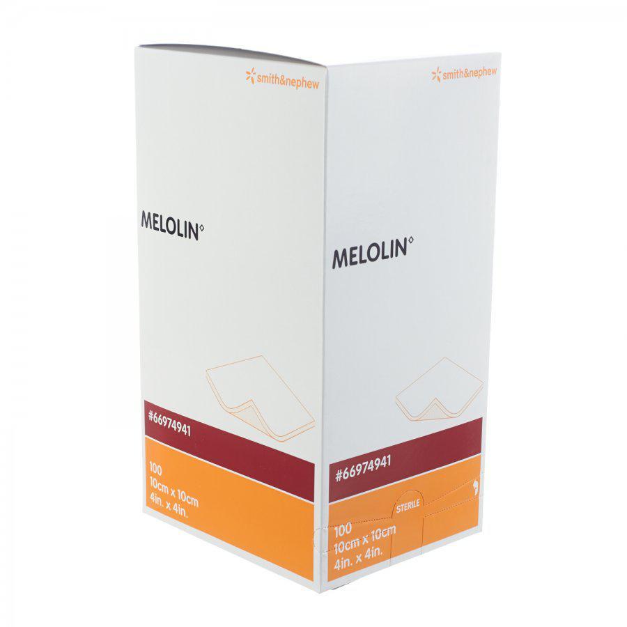 Image of Melolin steriele kompressen 10cmx10cm