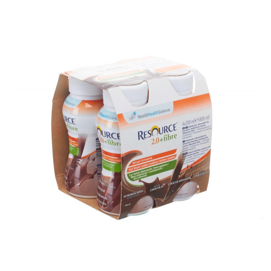 Image of Nestlé Resource 2.0+fibre chocolat