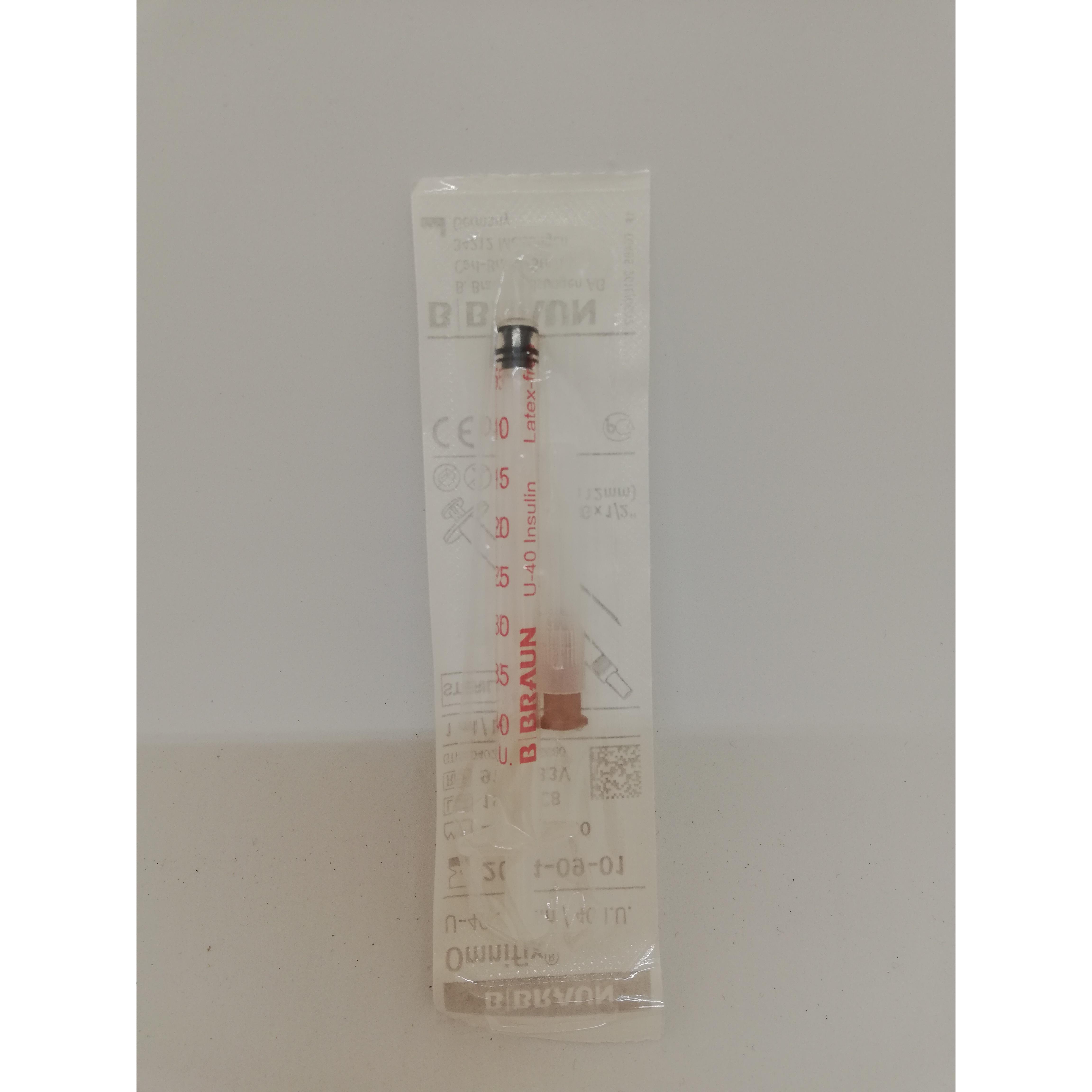 Image of B.Braun Insulinespuiten voor dieren U40 1ml 26G 1/2