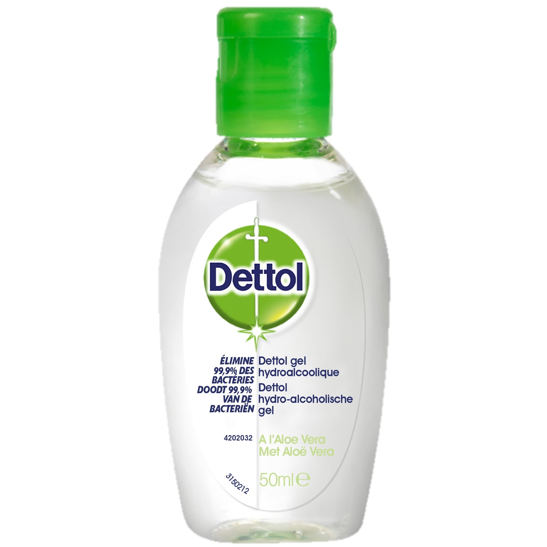Image of DETTOL GEL MAINS ANTIBACT ALOE VERA