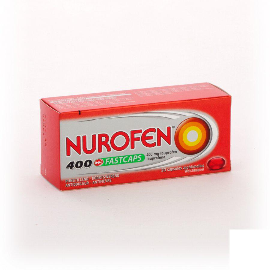 Image of Nurofen Fastcaps 400mg