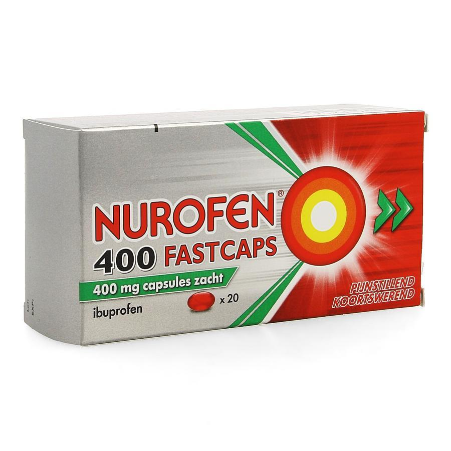 Image of Nurofen Fastcaps 400mg
