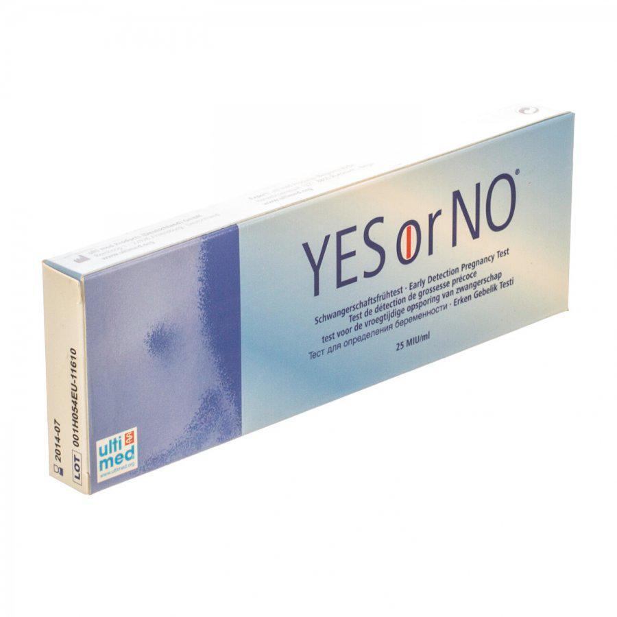 Image of Yes or No Zwangerschapstest