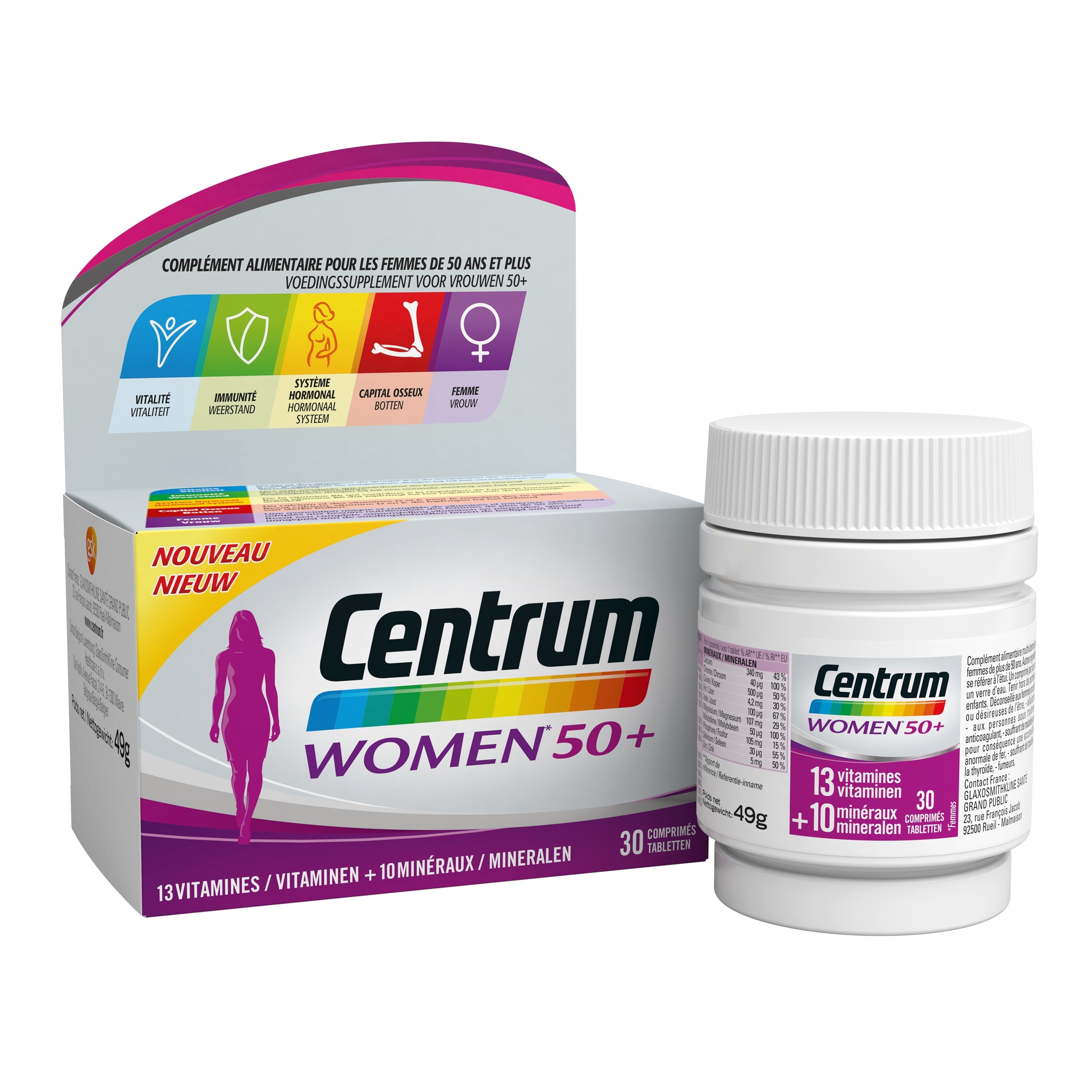 Image of Centrum Women 50+