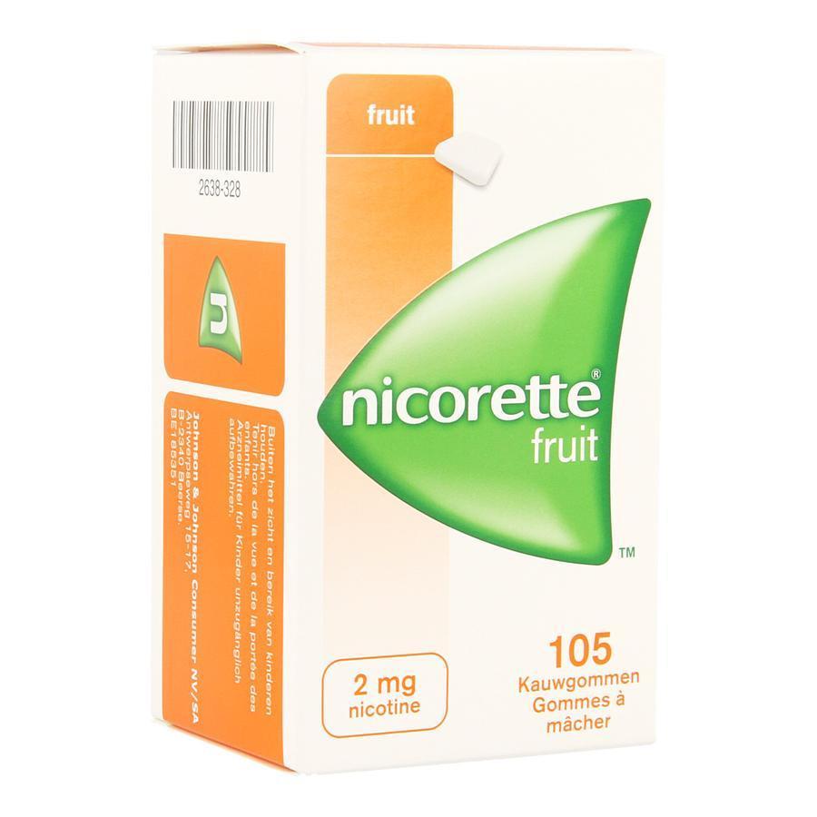 Nicorette Freshfruit 2mg