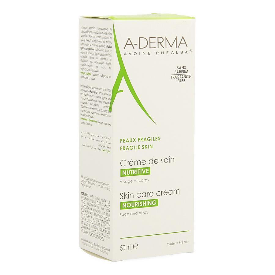 Image of A-Derma crème soin lait avoine