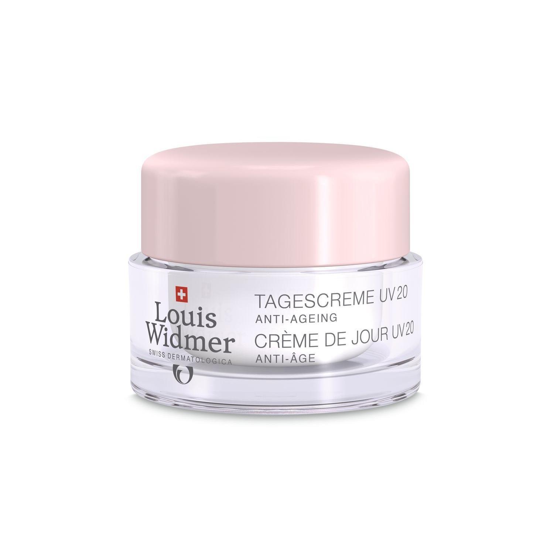 Louis Widmer Dagcrème UV 20 zonder parfum