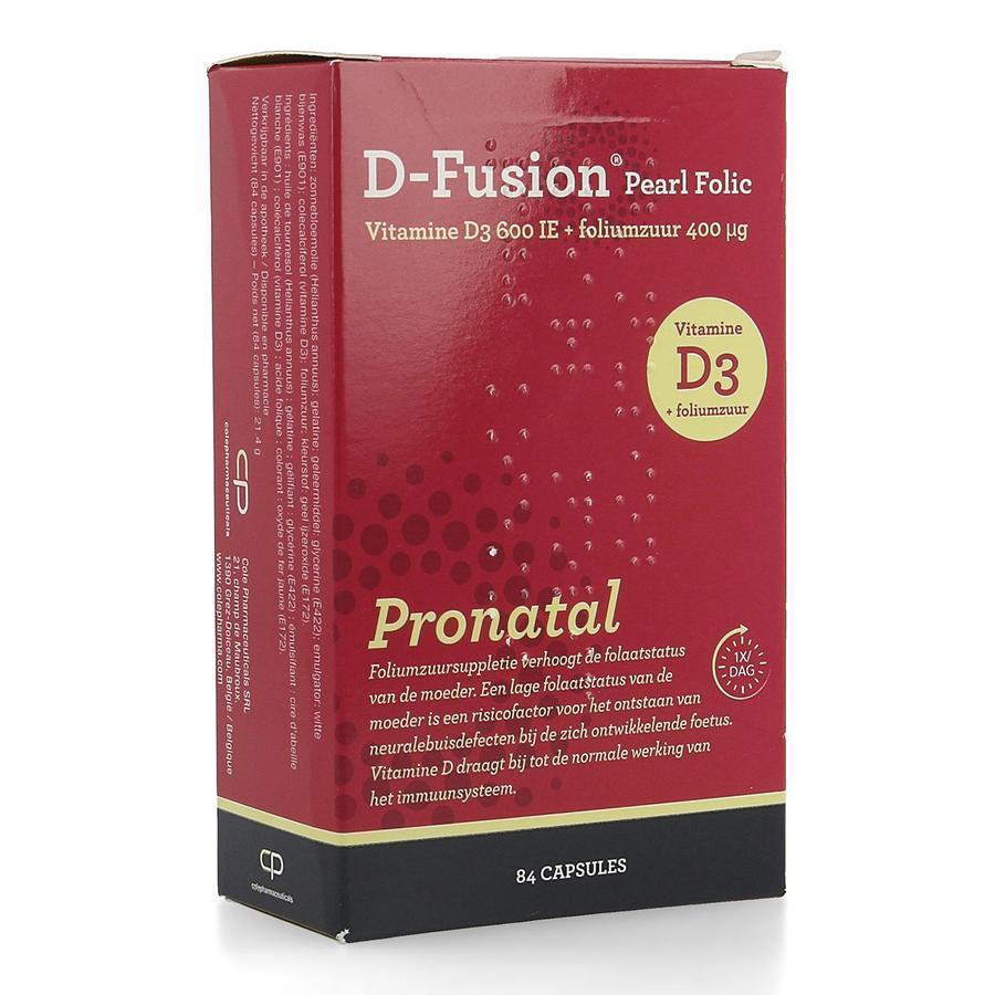 D-Fusion Pronatal Pearl Folic