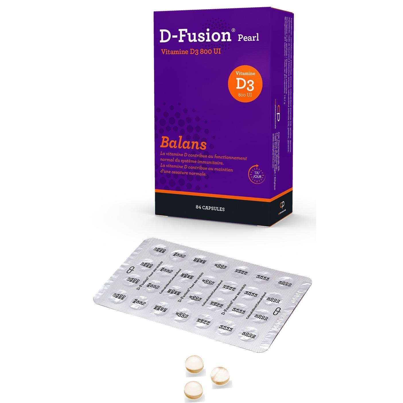 Image of D-Fusion Pearl 800IU