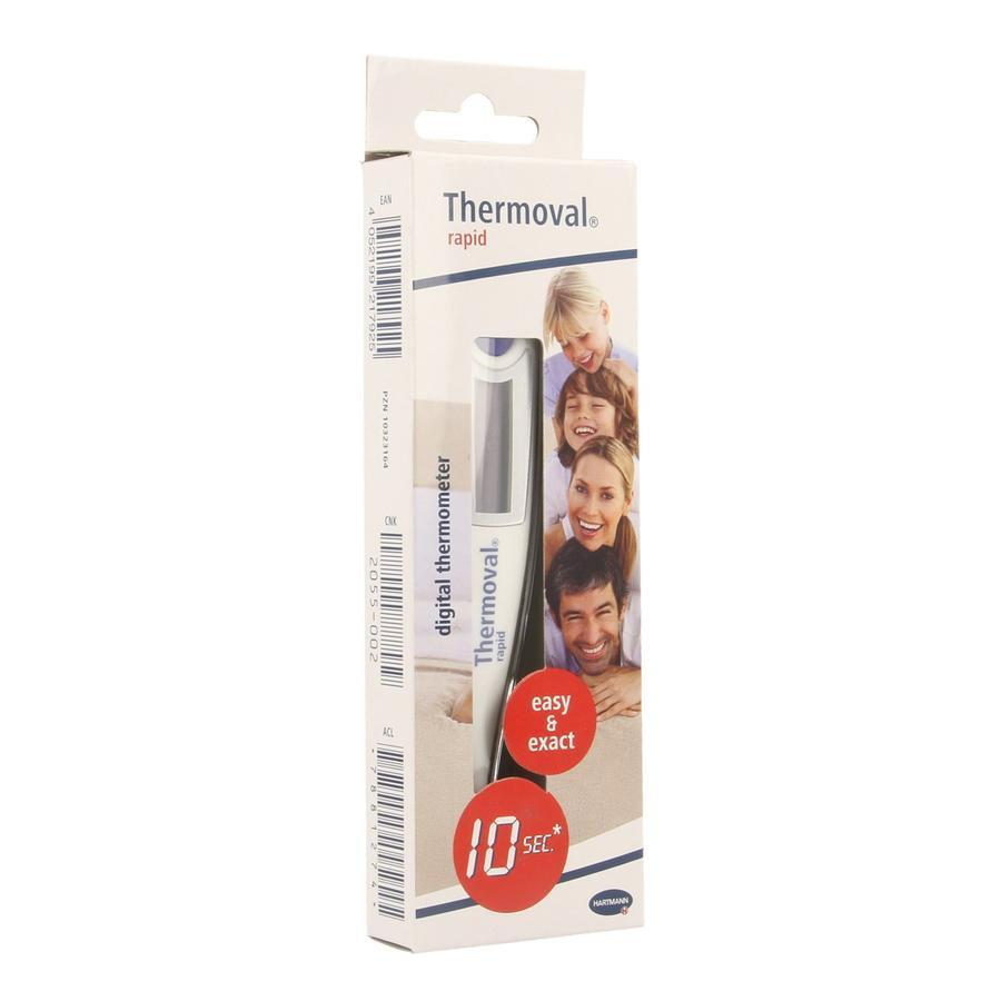 Thermoval rapid digitale thermometer