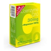 Image of Co-enzyme Q10 30mg + magnesium