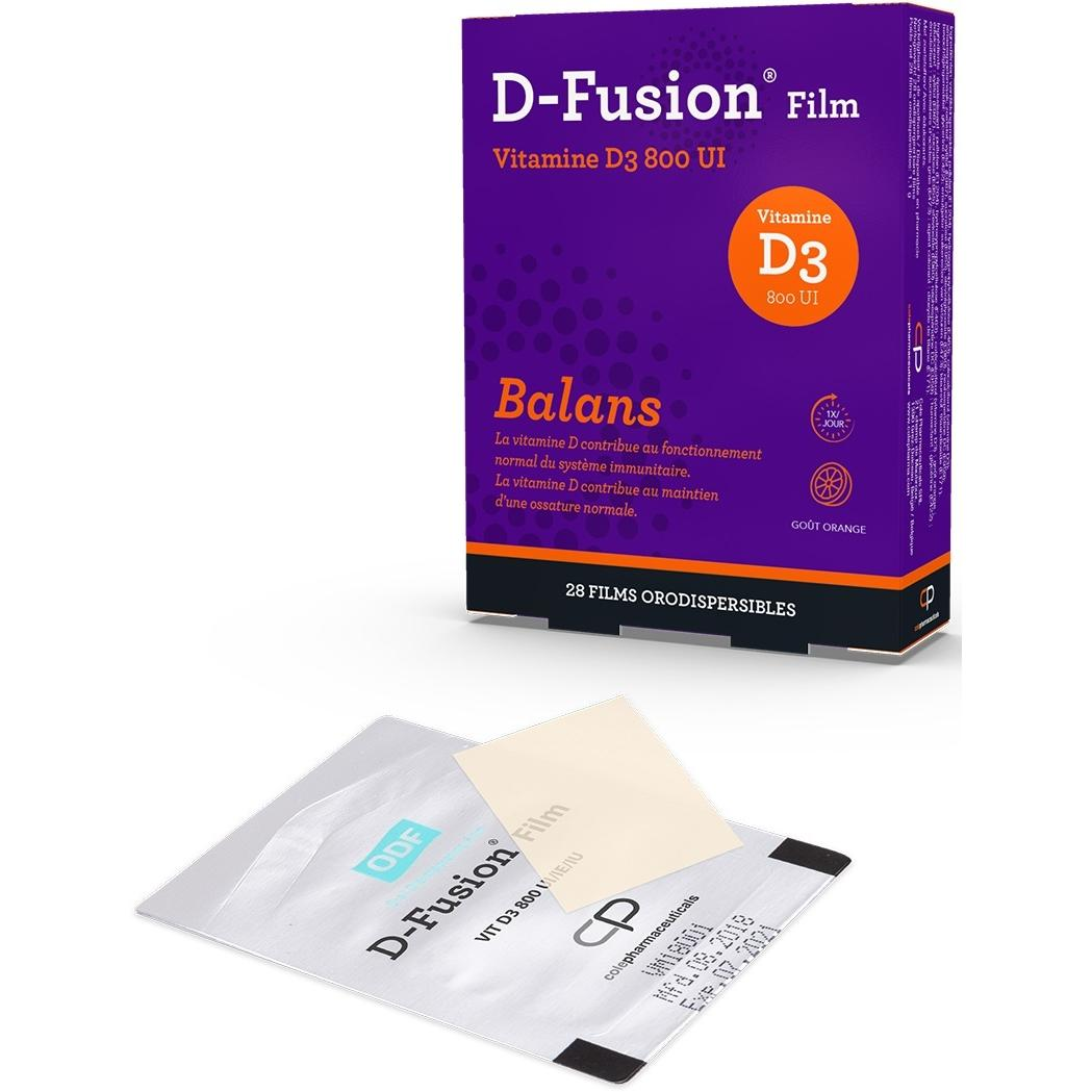Image of D-Fusion Film 800IU
