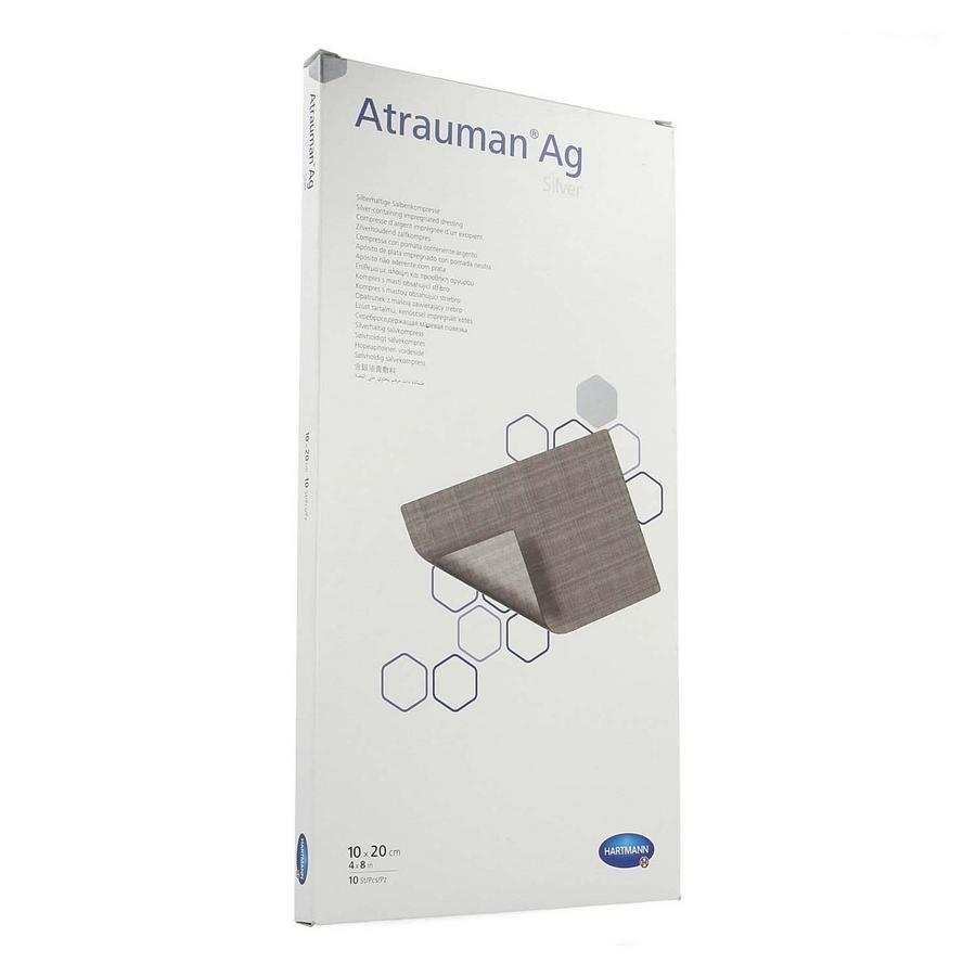 Image of Atrauman Ag Compresse d'argent imprégnée 10x20cm