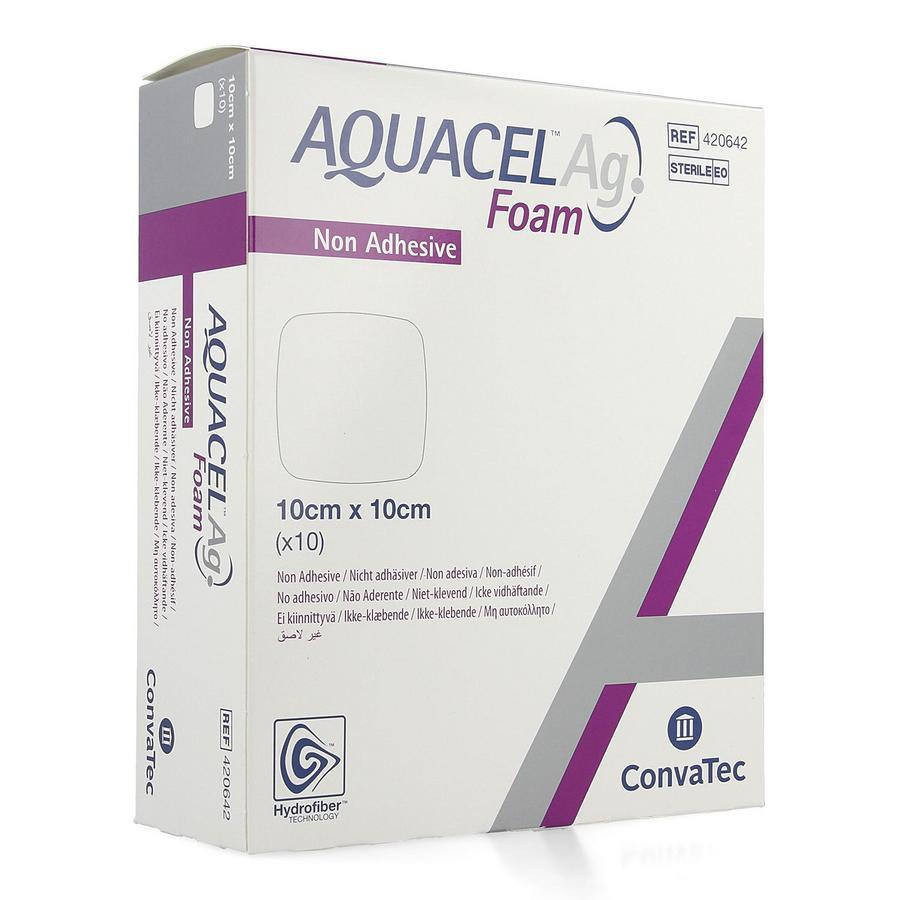 Image of Aquacel Ag foam 10x10cm
