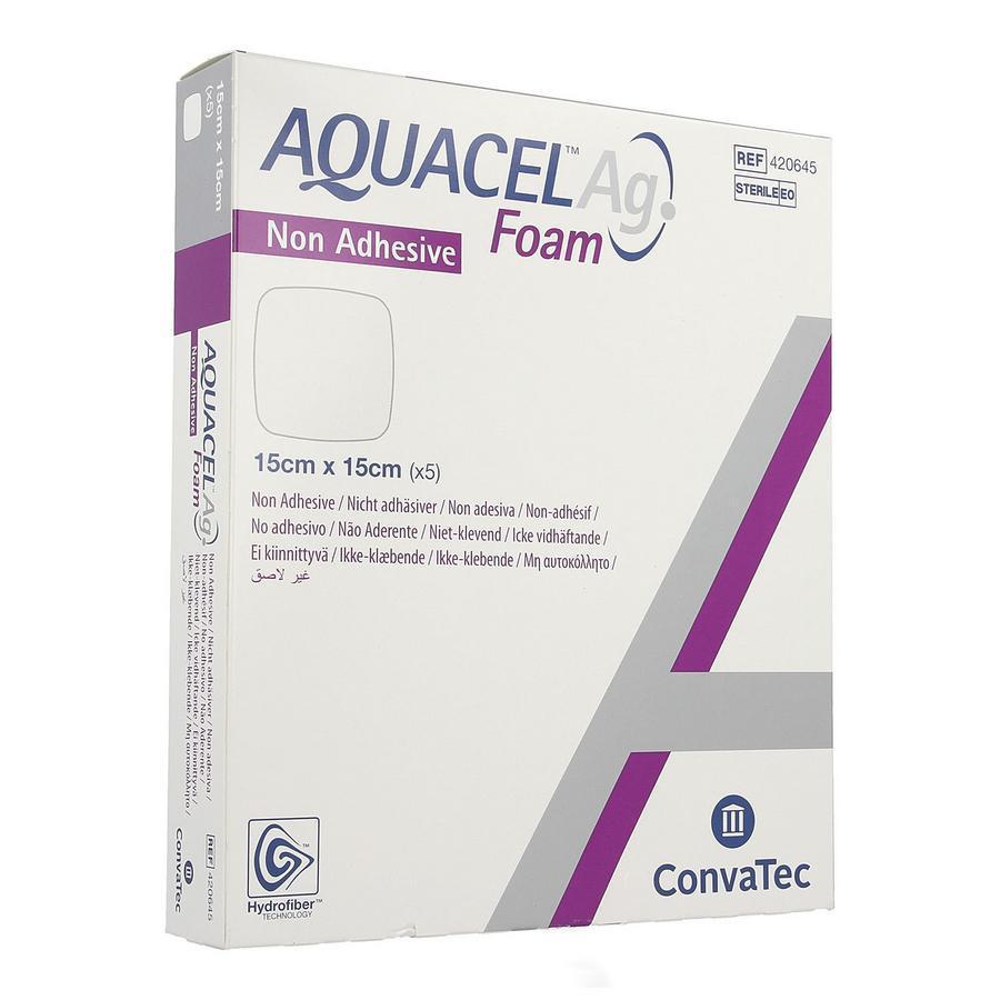 Image of Aquacel Ag foam 15x15cm
