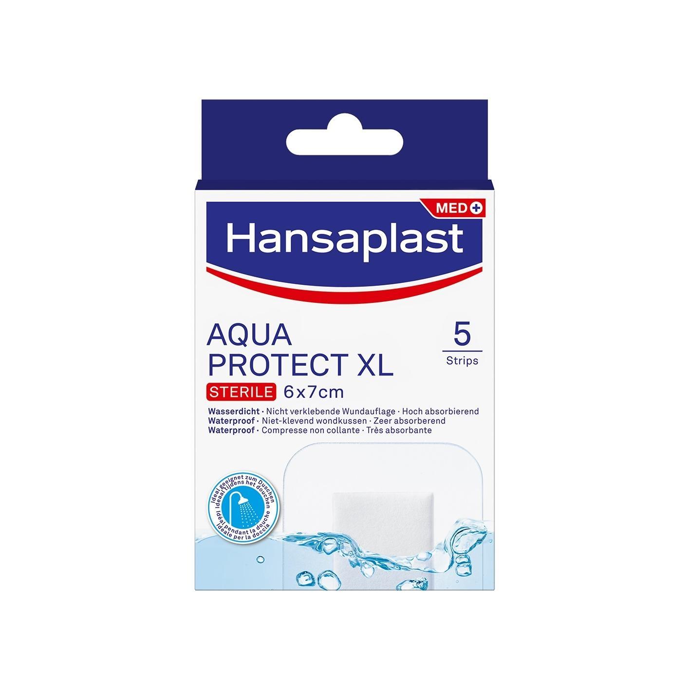 Image of Hansaplast Aqua protect XL 6x7cm