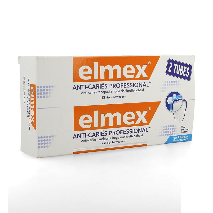 Image of Elmex Anti-cariës professional dentifrice Duo