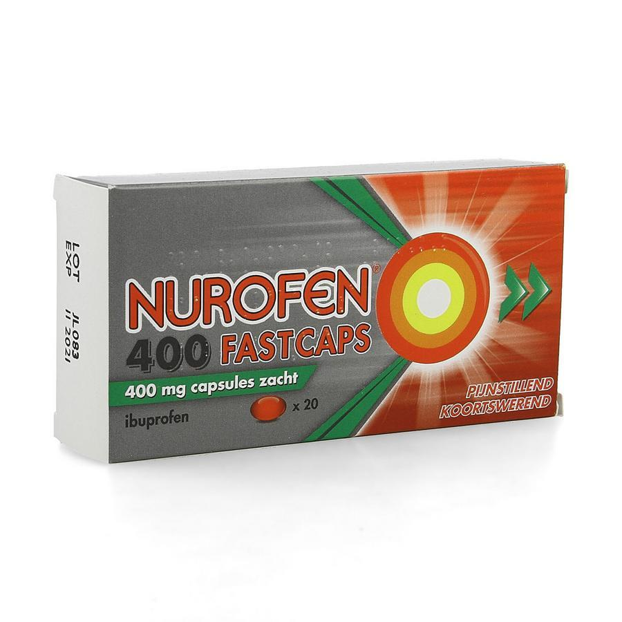 Image of Nurofen Fastcaps 400mg Impexeco